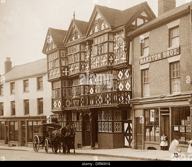 Ludlow old stock photos ludlow old stock images alamy for Period hotel