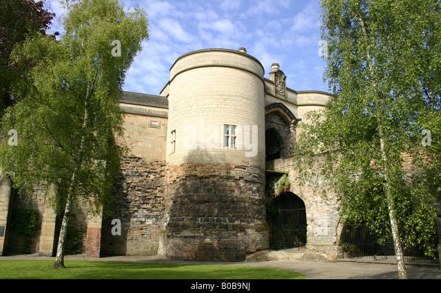 Nottingham Castle, Nottingham, England, U.K. - Stock Image