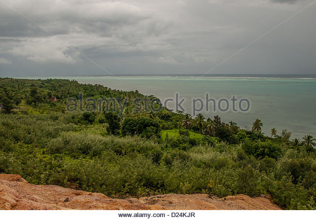 View of Ocean Indian in the island Sainte Marie,to the east of Madagascar.©William Stevens - Stock-Bilder