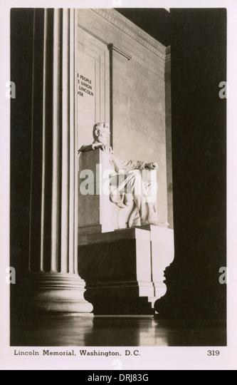The Lincoln Memorial, Washington, D. C. - Stock Image
