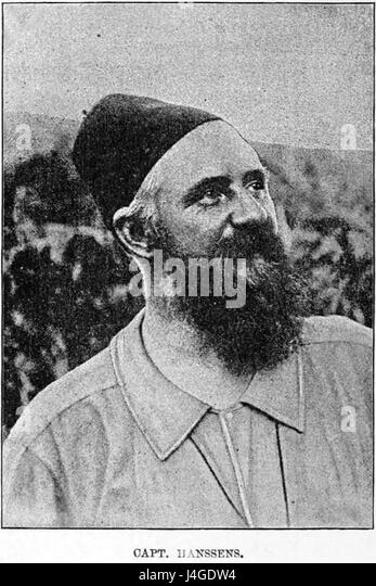 Stanley Founding of Congo Free State 228 Captain Hanssens - Stock-Bilder