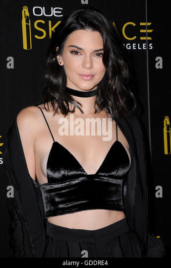 Los Angeles, CA, USA. 14th July, 2016. 14 July 2016 - Los Angeles, California. Kendall Jenner. Arrivals for the - Stock Image