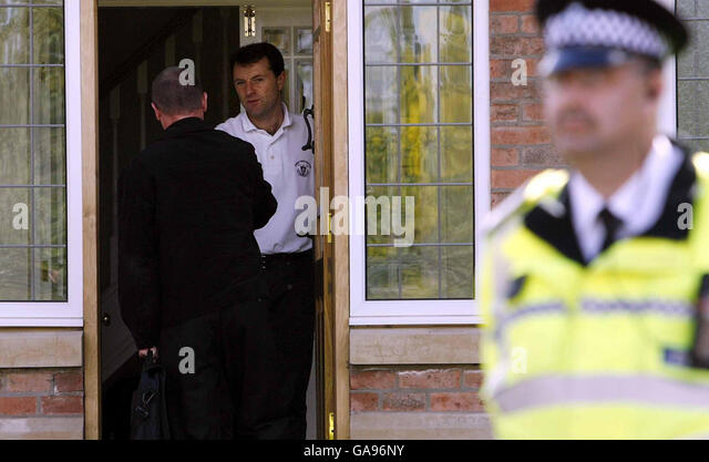 Leicestershire Police Officer Stock Photos