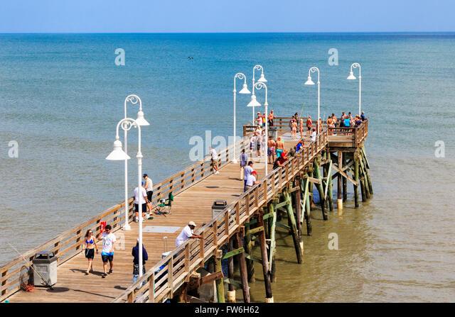 Daytona beach pier stock photos daytona beach pier stock for Daytona beach fishing pier