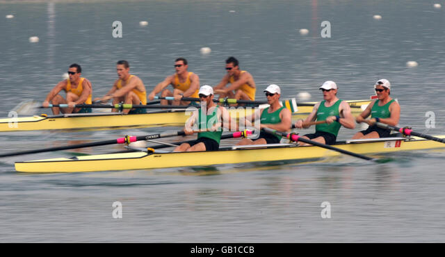 Olympics - Beijing Olympic Games 2008 - Day One - Stock Image