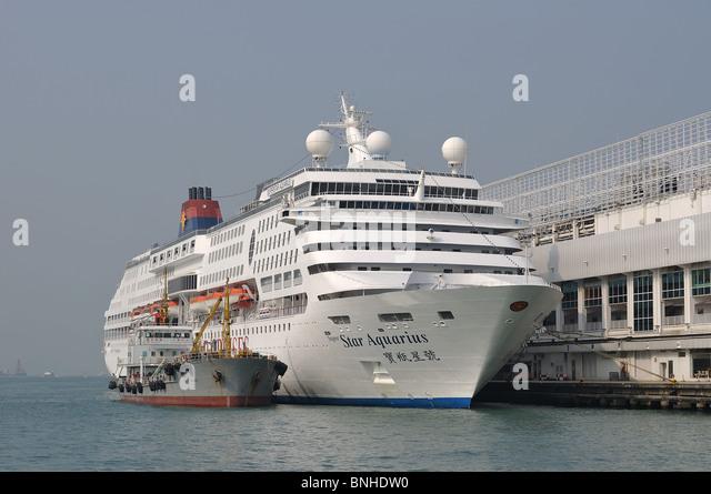 Cruise Ship Hong Kong Stock Photos Amp Cruise Ship Hong Kong
