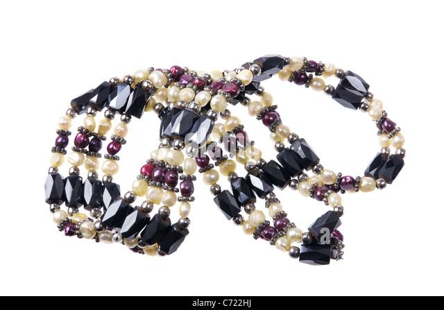 Beaded Bracelet - Stock Image