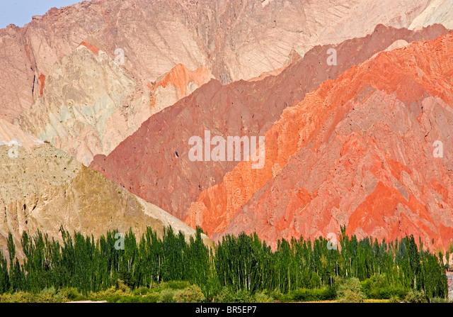 Aoyitage Valley, Pamir Plateau, Xinjiang, China - Stock-Bilder