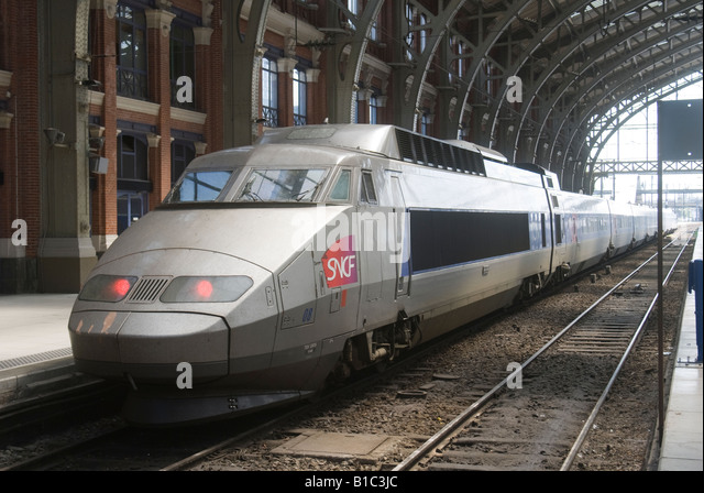 tgv france gare stock photos tgv france gare stock images alamy. Black Bedroom Furniture Sets. Home Design Ideas