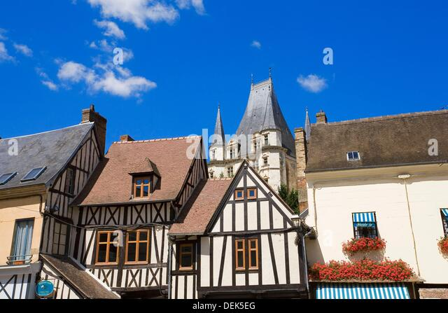 maisons colombages stock photos maisons colombages stock images alamy. Black Bedroom Furniture Sets. Home Design Ideas