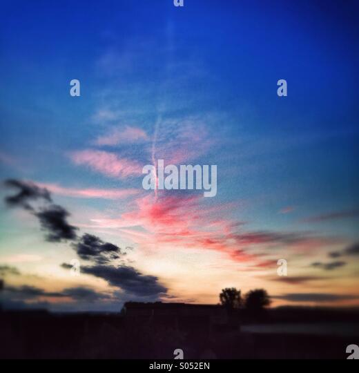 Evening Sky - Stock Image