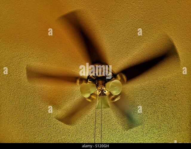 Ceiling Fan Motion Blur Stock Photos u0026 Ceiling Fan Motion ...
