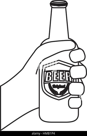 beer bottle coloring page - vintage beer bottle coloring coloring pages