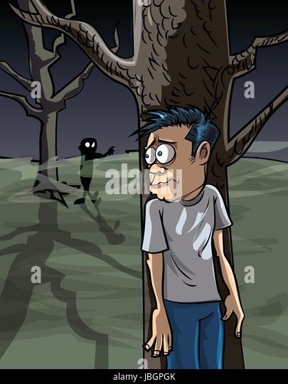 Cartoon Man Scared Stock Photos Amp Cartoon Man Scared Stock