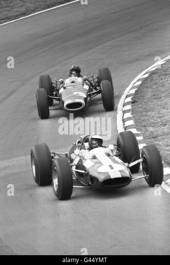 Motor Sport - RAC European Grand Prix - Graham Hill - Brands Hatch - Stock Image