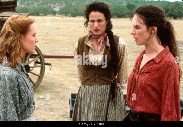 Les belles de l ouest Bad Girls Année 1994 usa Andie MacDowell Mary Stuart Masterson Madeleine Stowe Réalisateur - Stock Image