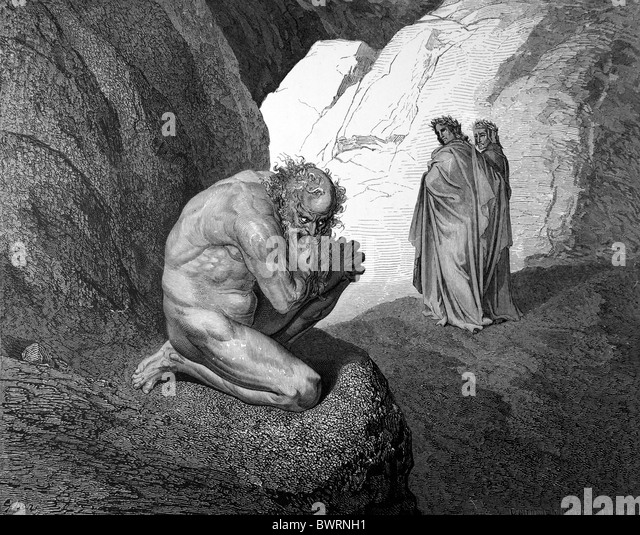dantes encounters with the guardians of hell As with the previous classical guardians of hell, virgilio manages dante's safe   will encounter a sinner whose body is described as though substantial: dante.