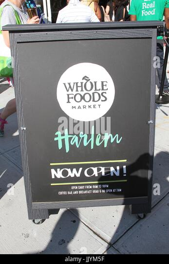 Whole Foods Grand Opening Harlem