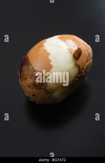Tea egg - Stock Image