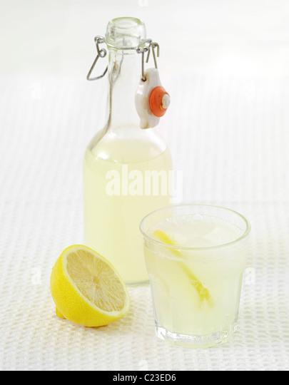 Cloudy Lemonade - Stock Image