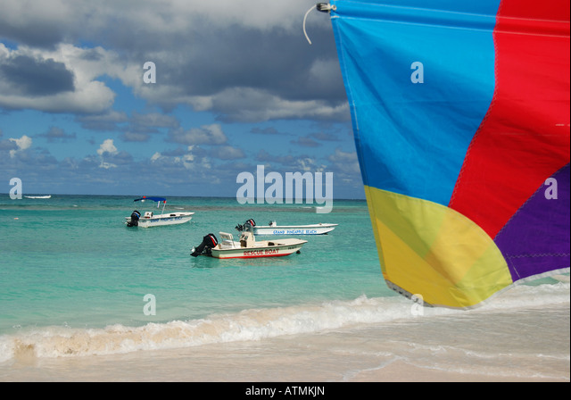 Long Bay Beach, Antigua - Stock Image