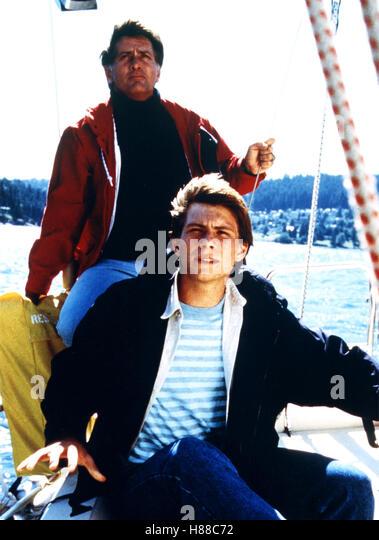 Moon Trek, (BEYOND THE STARS) USA 1989, Regie: David Saperstein, MARTIN SHEEN, CHRISTIAN SLATER - Stock Image
