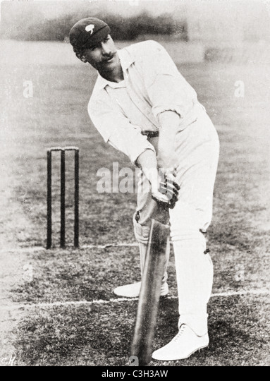 Sir Francis Stanley Jackson, 1870 –1947, aka Honourable Stanley Jackson. English cricketer, soldier, politician - Stock Image