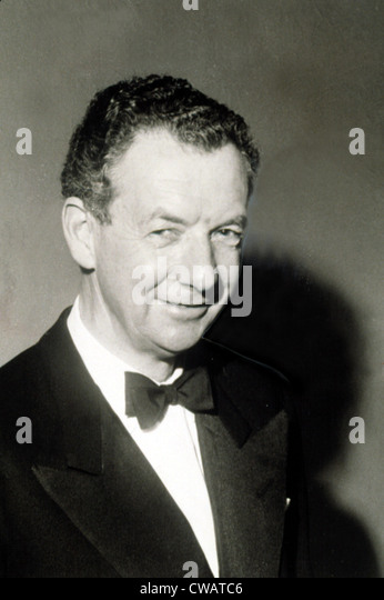 Benjamin Britten, British Composer.. Courtesy: CSU Archives / Everett Collection - Stock Image
