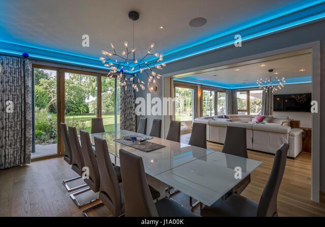 Weberhaus modular house stock photos weberhaus modular house stock images alamy - Modular dining room ...