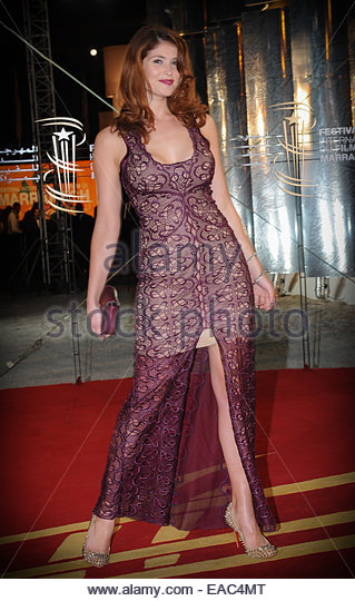 British Actress Gemma Arteton attending Festival of film Marrakech.©William Stevens - Stock-Bilder