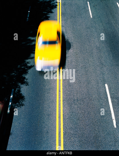 USA   NEW YORK   TAXI - Stock-Bilder