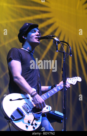 THE DANDY WARHOLS - US rock group with Courtney Taylor-Taylor - Stock-Bilder