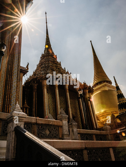 Bangkok Grand Palace, Thailand - Stock-Bilder