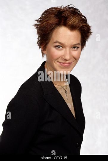 Potente, Franka, 22.7.1974, German actress, portrait, 1998, smiling, - Stock Image