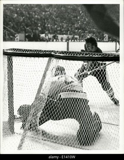 Mar. 31, 2012 - USSR ice hockey - Vancouver September 1972 - Stock Image