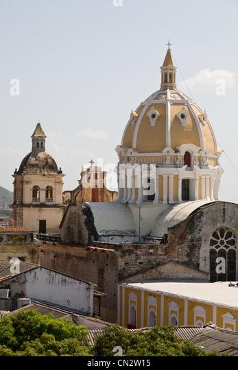 Cartagena de Indias, Colombia - Stock Image