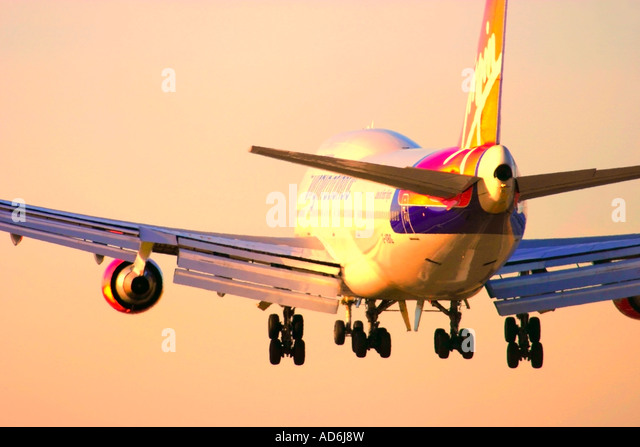 Virgin Atlantic Airways aeroplane - Stock Image