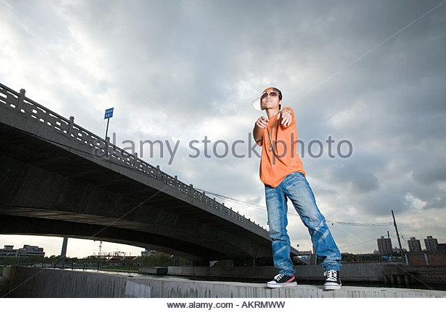Cool young man - Stock-Bilder