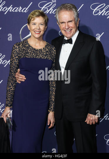 January 3rd, 2017 - Palm SpringsAnnette Bening and Warren Beatty attend the 28th Annual Palm Springs International - Stock-Bilder