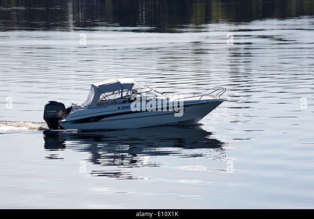 boating, Lappeenranta Finland - Stock Image