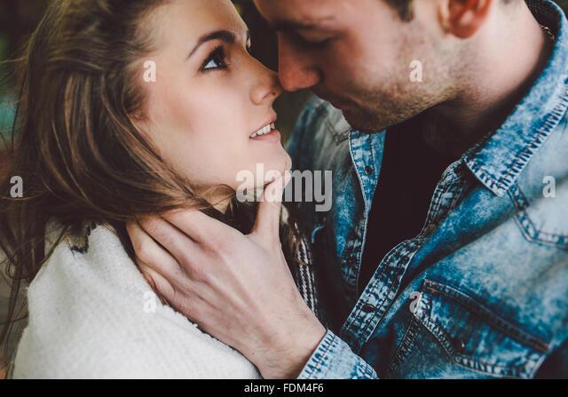 young beautiful couple - Stock-Bilder