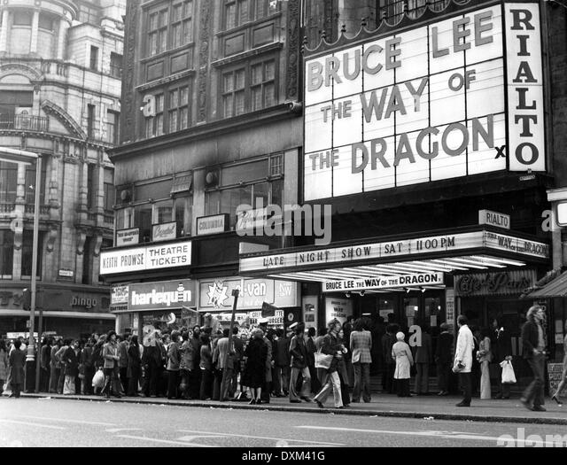 RIALTO CINEMA, COVENTRY STREET, LONDON - Stock Image