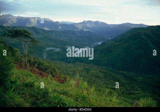 Scenery Irian Jaya Indonesia Southeast Asia Asia - Stock Image