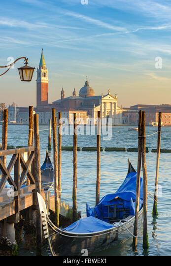Venetian street life. Venice, Italy - Stock-Bilder