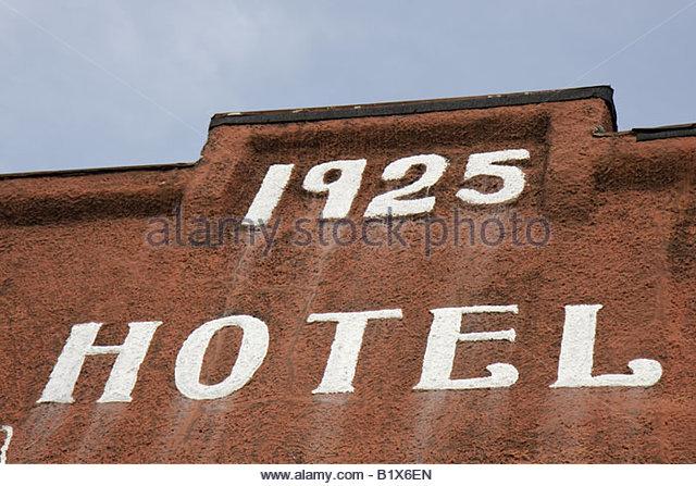 Arkansas Maynard Maynard Hotel built 1925 building lodging historic - Stock Image