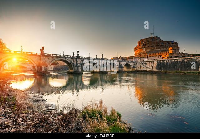 Sant'Angelo fortress, Rome - Stock-Bilder
