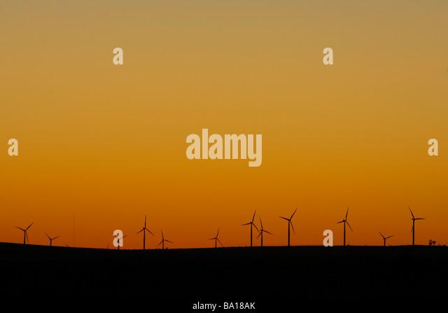 Wind Farm - Stock Image