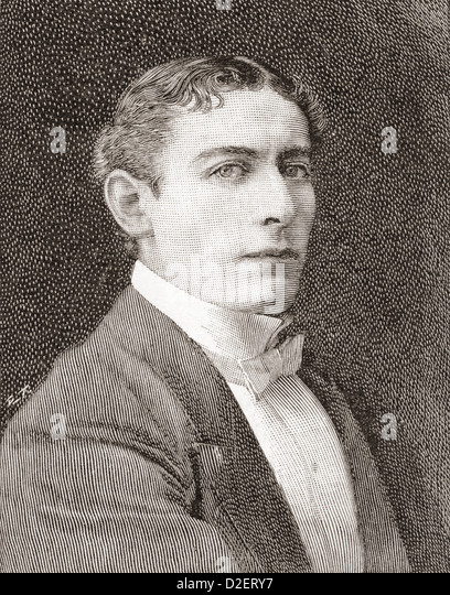 William Waller Lewis, 1860 ? 1915, known on stage as Lewis Waller. English actor and theatre manager. - Stock-Bilder