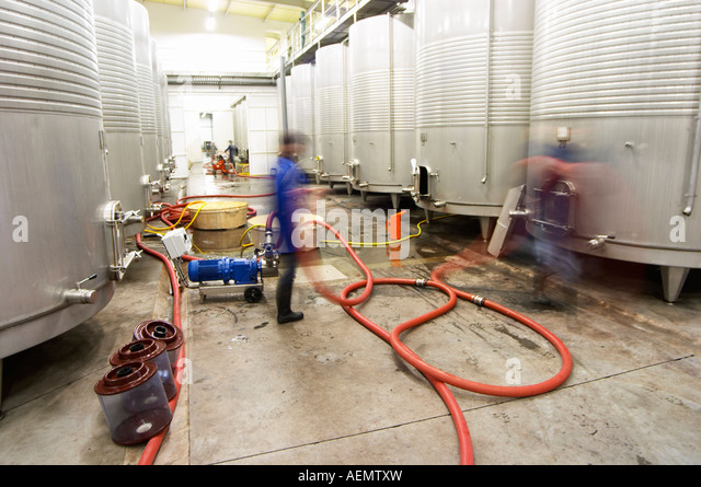 inox wine tanks stock photos inox wine tanks stock images alamy. Black Bedroom Furniture Sets. Home Design Ideas
