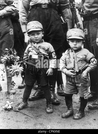 Children in SA Uniforms, 1936 - Stock Image